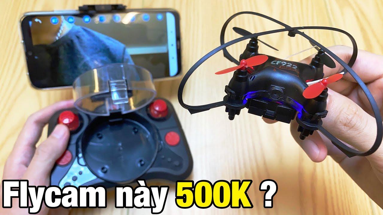 Mini Flycam CF922 giá hơn 500K trên Lazada : Bé tý thế này thì có Bay nổi không ???