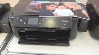 epson L810 printer review in 3D