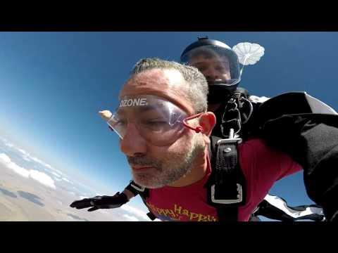 Darren Stein's Tandem skydive!