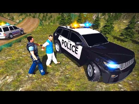 Hill Police Crime Simulator - Android GamePlay