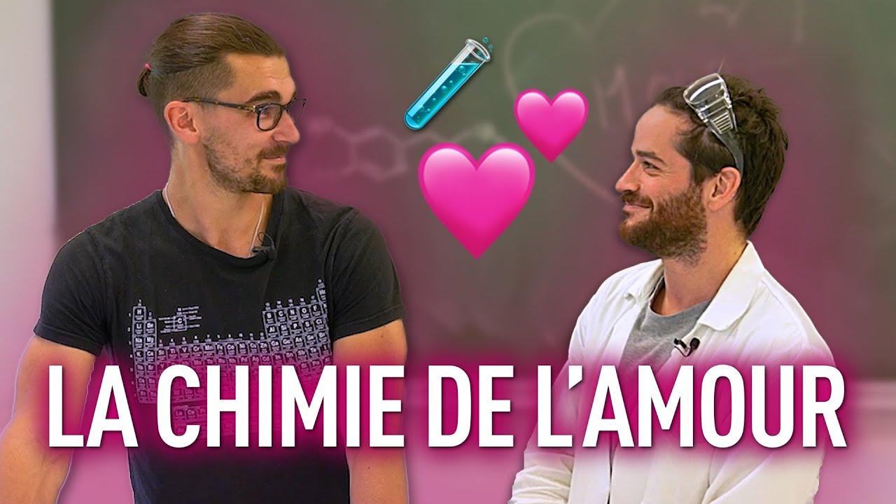 La CHIMIE de l'AMOUR ! ft. @Blablareau au labo