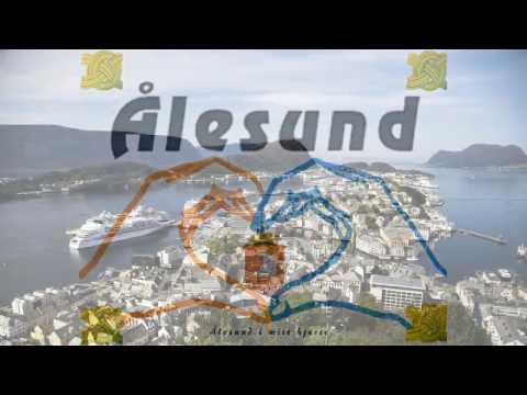E elska Ålesund - Aalesund - Best city Norway - Norges peneste by - Vakreste by - Aafk - Jugend