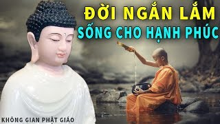 Phật Dạy Đời Người Ngắn Lắm Hãy Sống Sao Cho Thật Hạnh Phúc - Nghe Để Thay Đổi Số Phận