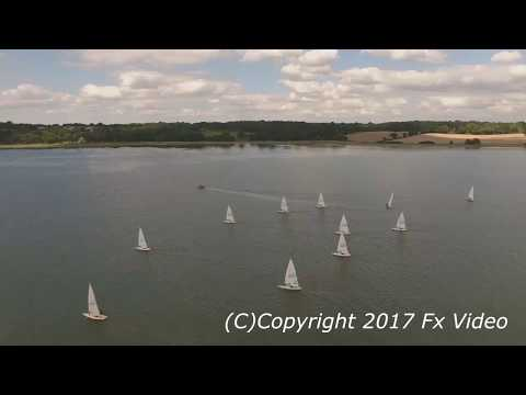 Picturesque drone footage of River Orwell released by Suffolk filmmaker