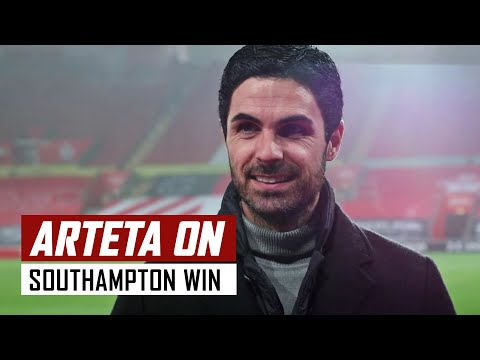 'It was a strong performance!' | Mikel Arteta on Southampton 1-3 Arsenal