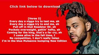 The Weeknd - Starboy Mp3 Download Free 320kbps