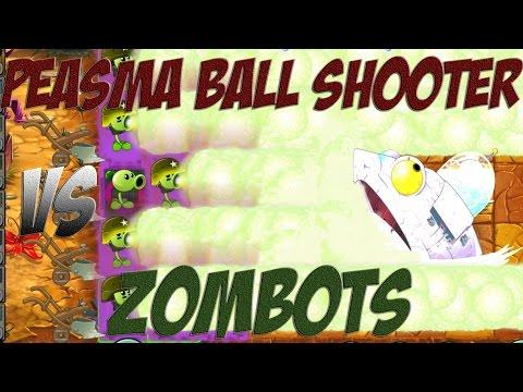 Plants vs Zombies 2 Epic Hack : Peasma Ball Shooter vs Each Freakin