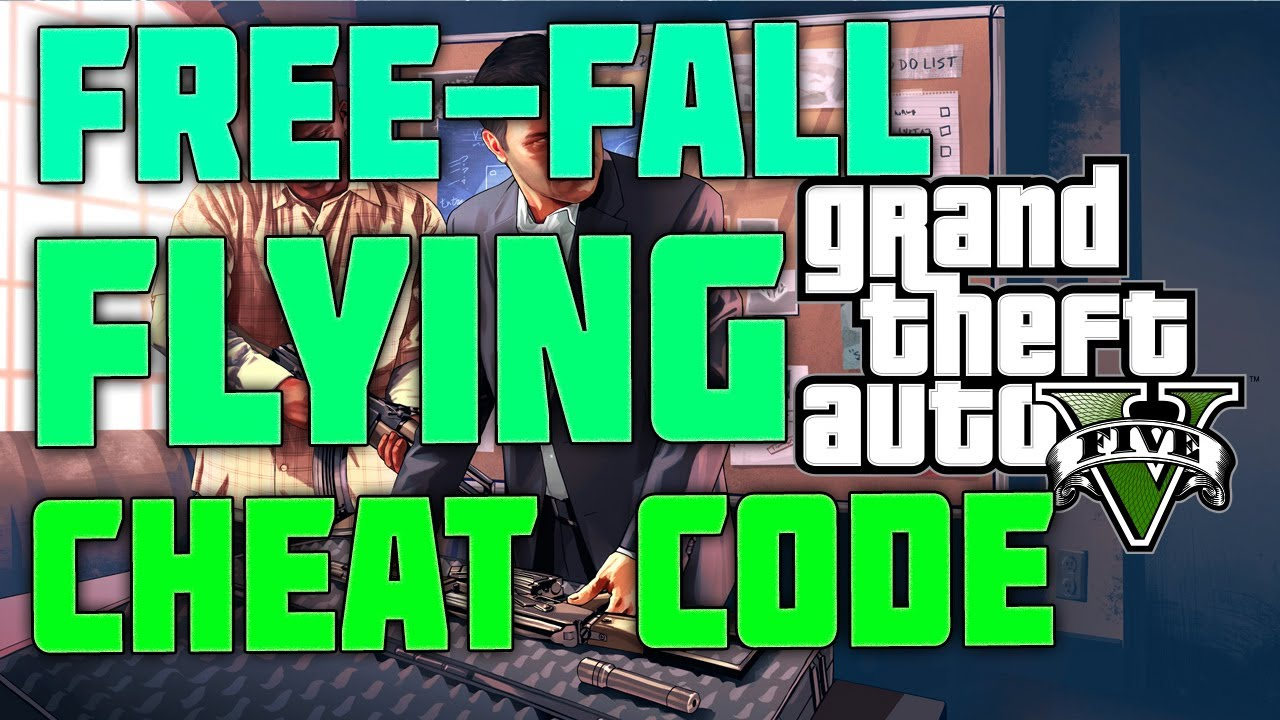 free fall cheat gta v ps4