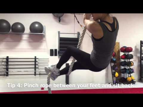 Thumbnail image for 'Learn to Climb a Rope: Progressions for body weight exercises'