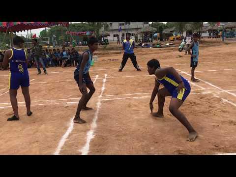 13th Junior State Atya Patya Championship, Chennai vs Erode Set 1 Chennai in Affence