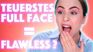 550 Euro Full Face Makeup ❗️ Wie gut kann es sein❓ | Full Face of First Impressions | Hatice Schmidt