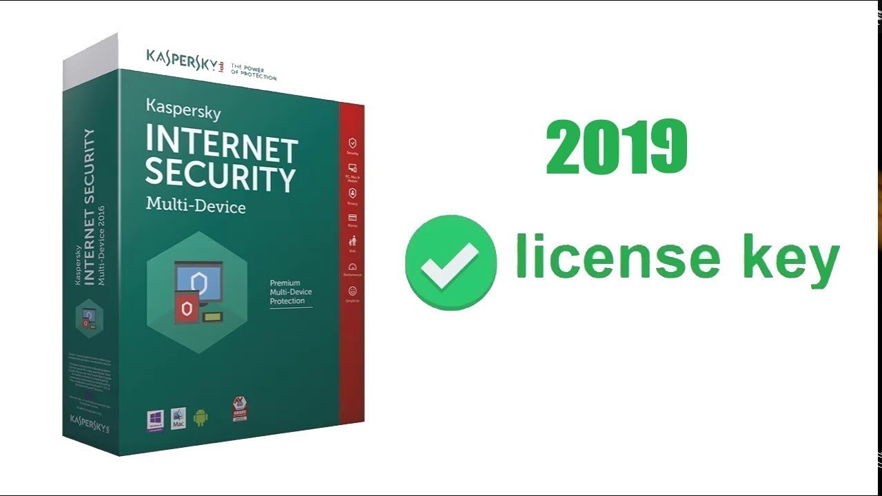 kaspersky internet security 2019 key free