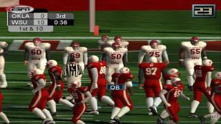 NCAA College Football 2K3 PS2 Gameplay HD