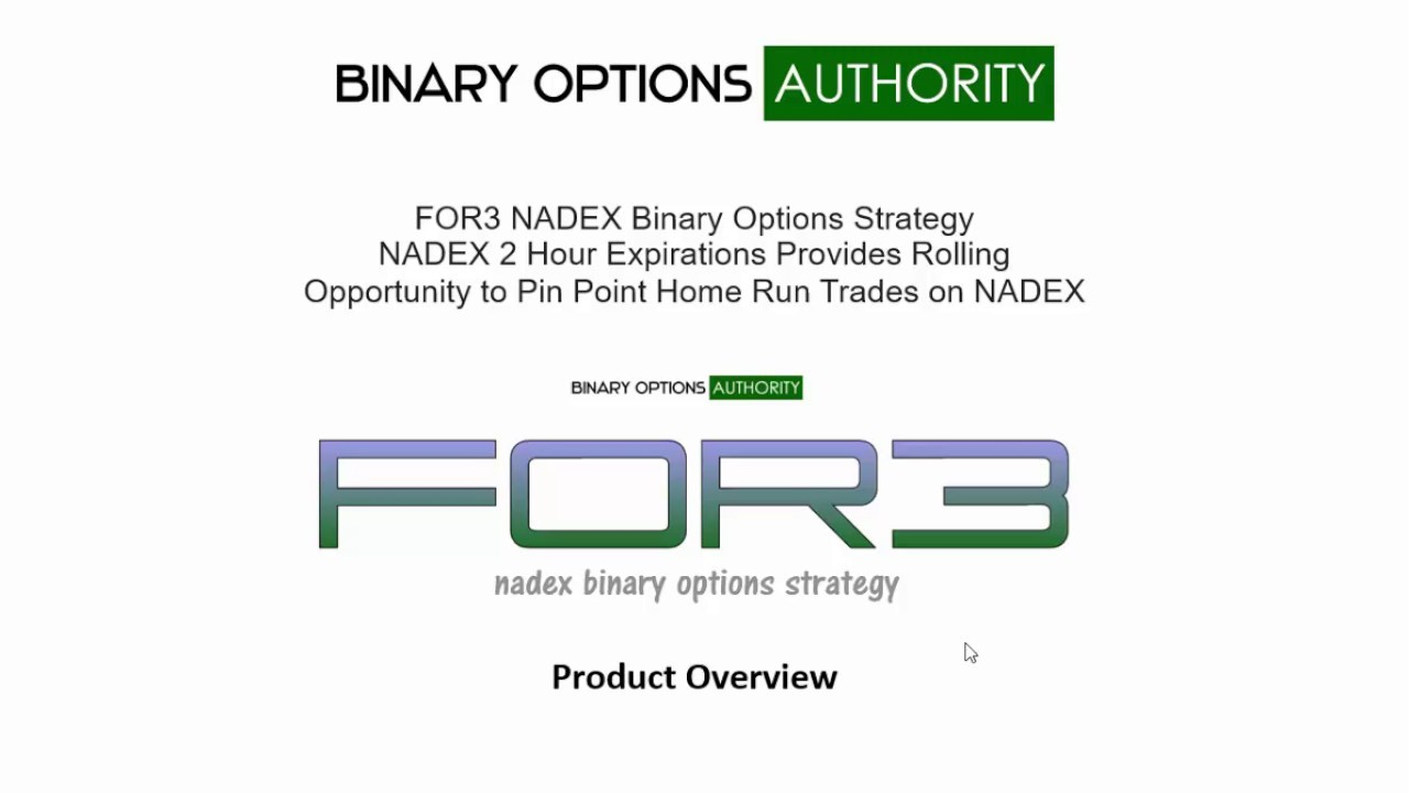 Advanced Binary Options Trading Strategy With Nadex Call Spreads [Video]