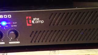 The T.Amp E-800 Endstufe