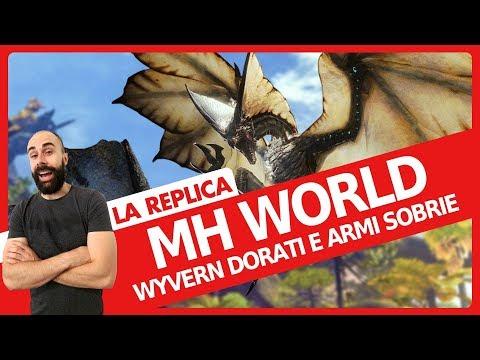Monster Hunter World - Wyvern dorati e armi sobrie - Everyeye.it