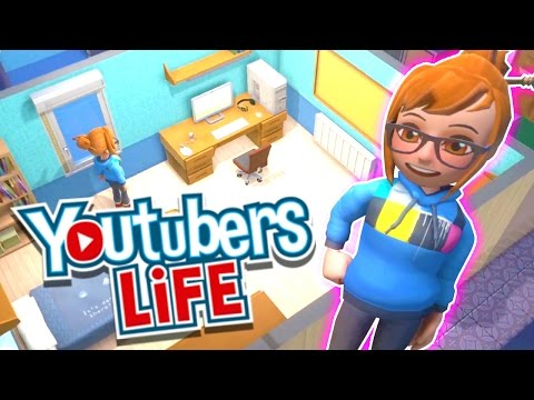 Youtubers Life – Starting Out My Channel!! – Simulation Indie Game – DOLLASTIC PLAYS!