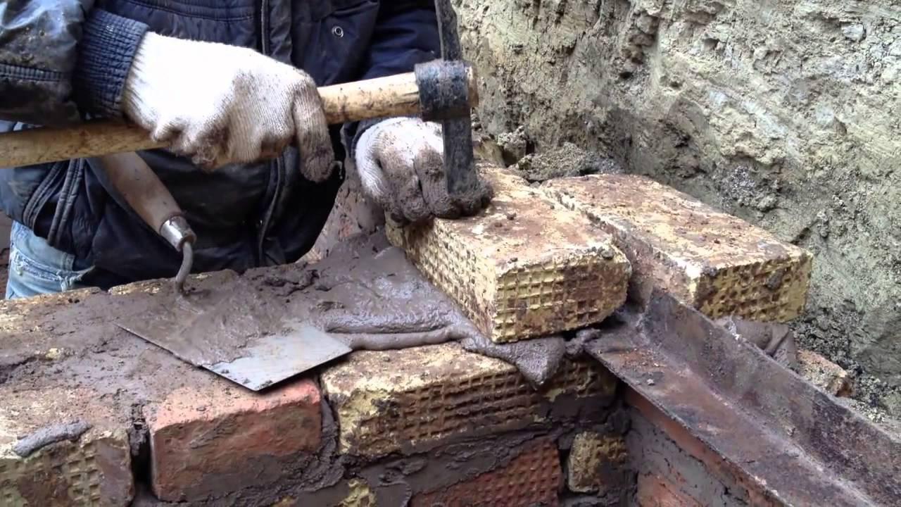 Как построить погреб своими руками. проставление уголков - y.