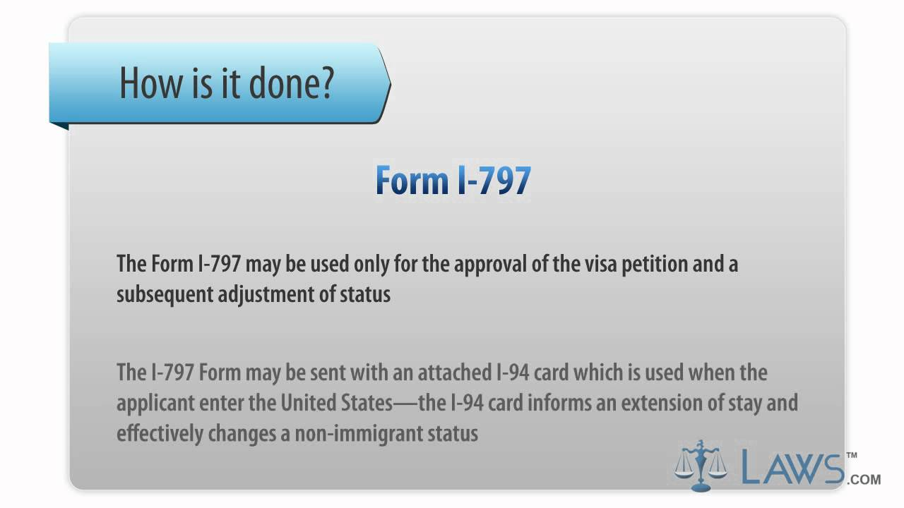 Form I-797 - YouTube