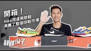 Nike 用這兩雙鞋沸騰了 6 月的球鞋市場!Sacai LDWaffle u0026 Undercover Daybreak 開箱|鞋餓份子