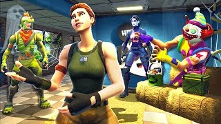 *WILL SHE SEE US!? * Halloween Skins Hiding in Fortnite Battle Royale New Update!