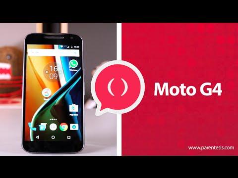 Moto G4, ¿mejor que la versión Plus? Review en español