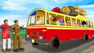 लालची बस ड्राइवर हिंदी कहानी - Greedy Bus Driver Hindi Kahaniya - Moral Stories - Hindi Fairy Tales