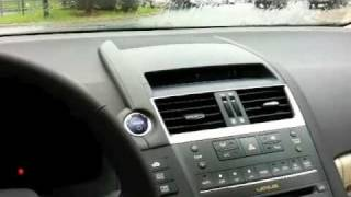 2010 Lexus HS250h Start Up, Full Vehicle Tour, and Engine Details