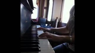 Hinh bong doi cho. Piano