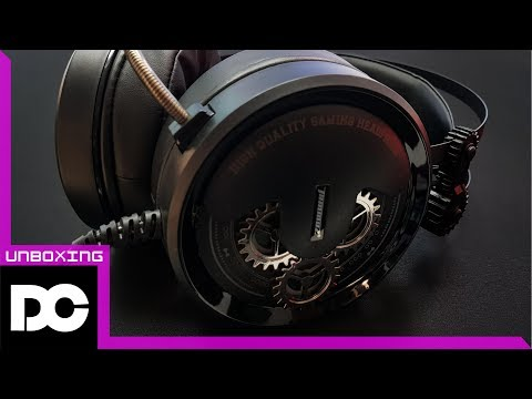 [DC튜브] 타무즈 칸타레 H2000 7.1채널 배틀그라운드 게이밍 헤드셋 거치대가 공짜? (언박싱&리뷰)