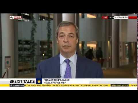 Nigel Farage The EU has gone way too far today