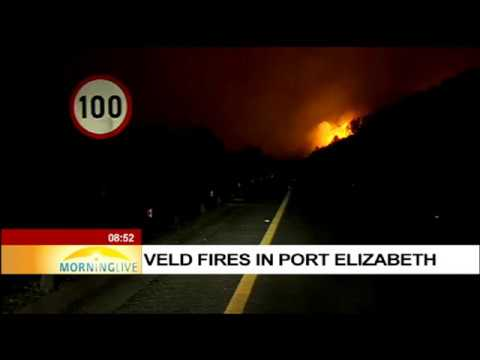 UPDATE: Veld fires in Port Elizabeth, Janine Lee reports