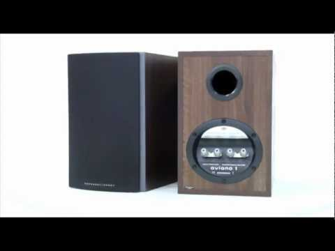 Mordaunt Short  Aviano 1 bookshelf speaker