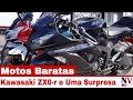 2 Kawasaki ZX6-R e Uma Surpresa - Motos nos Estados Unidos