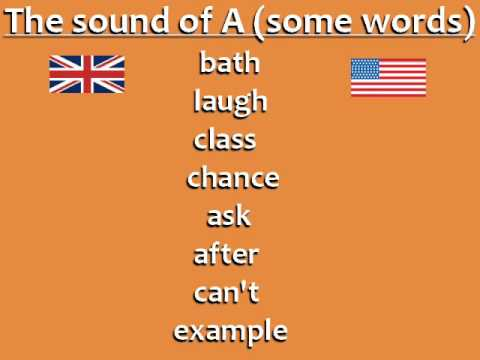 British English vs. American English