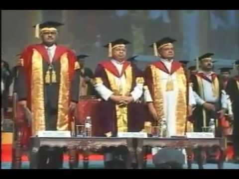 Convocation Ceremony 2012 - Deanery of Science & Arts on 26th May 2012 at Christ University