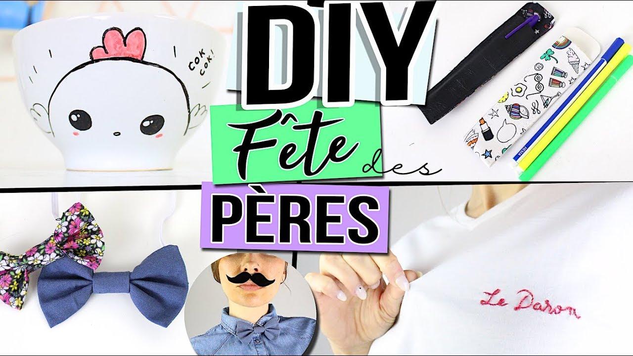Chose A Faire Pour La Fete Des Pere diy fete des peres ┋ 4 idees cadeaux facile a faire pour les hommes  father's day gift 2018_ français
