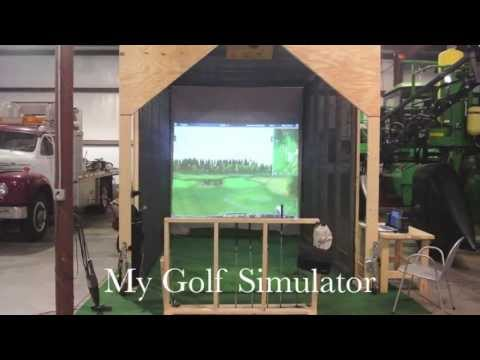 My Golf Simulator (Powered by Optishot