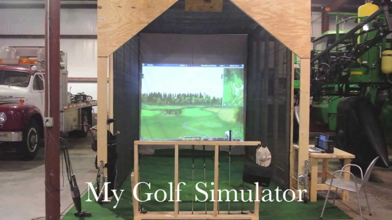 How To Build A Home Golf Simulator For Under 2 000