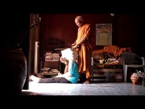 Thai Monk Exorcism of Demon in Lady