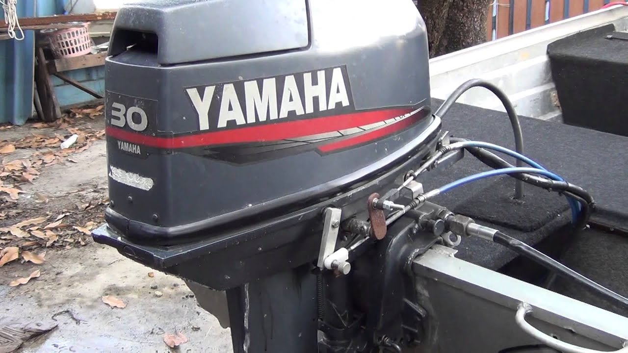 Test yamaha 30 hp youtube for 30 hp yamaha outboard