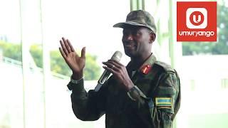 """""""Ibiraka by'intambara tuzajya tubirangiriza iyo kure"""": Gen Mubaraka abwira aba motards"""