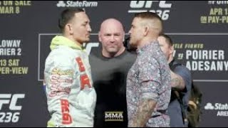 UFC 236 MAX HOLLOWAY vs DUSTIN POIRIER |LIVE| FIGHT COMMENTARY W/MIKE LEAGUE MEET UP