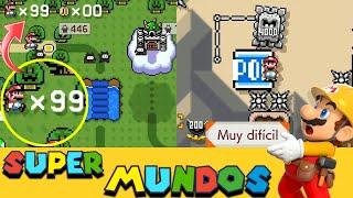 99 VIDAS para un INCREÍBLE Mundo de FAILS - MUNDOS SUPER EXPERTOS - Super Mario Maker 2 - ZetaSSJ