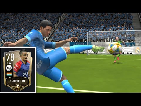 Sunil Chhetri India 🇮🇳 Captain (Indian Ronaldo) GamePlay In Fifamobile20!!