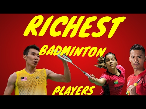 Top 10 richest and highest paid badminton players