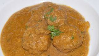 Kofta Curry Lamb - By Vahchef @ Vahrehvah.com