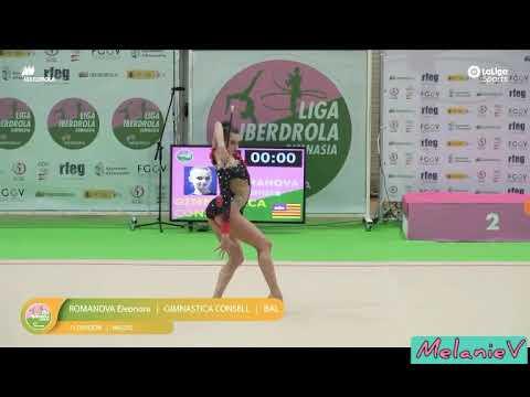 ELEONORA ROMANOVA - MAZAS ( GIMNASTICA CONSELL ) ( FINAL LIGA IBERDROLA 2019 )