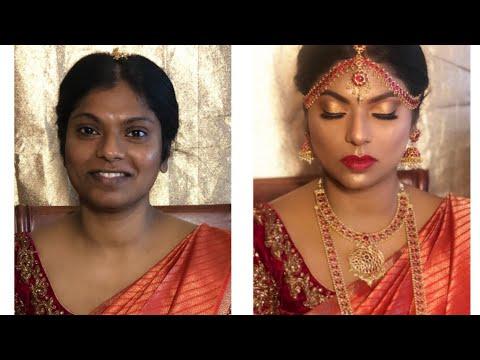 South Indian Bridal/ Muhurtham Makeup For Dark skin