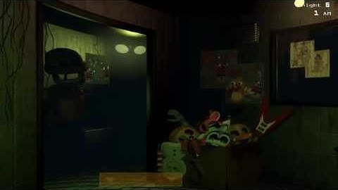 five nights at freddys 3 cmo pasar el modo nightmarenoche 6  monkeyfacebook  mf